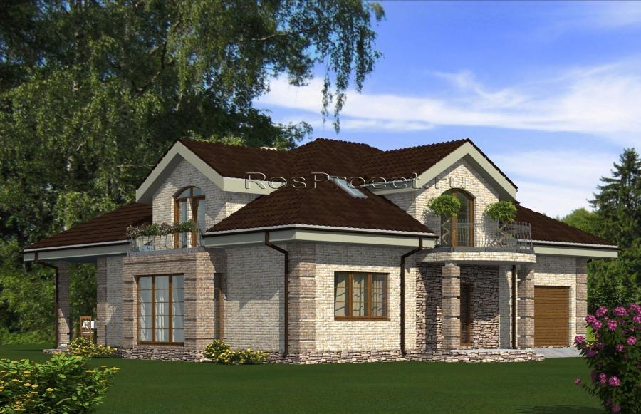 Проекты трехэтажных домов и коттеджей Готовый проект